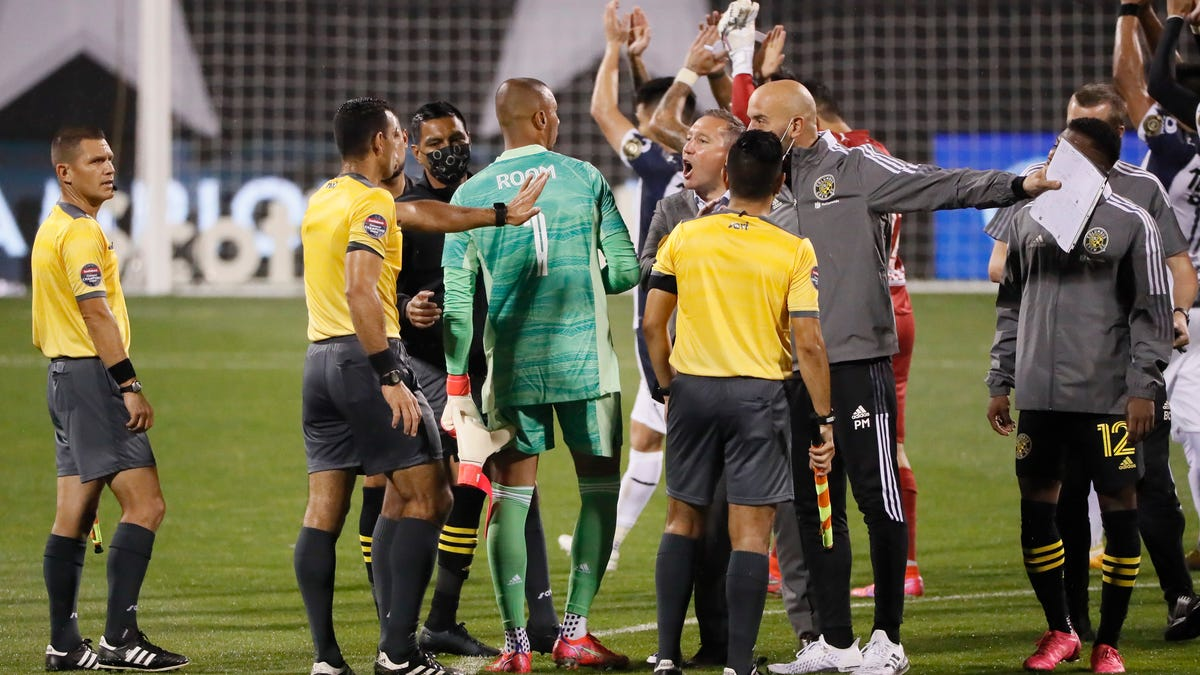 CONCACAF fines Crew coach Caleb Porter for comments after first leg Champions League quarterfinal