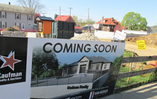 Work has begun on the construction of the new Kaufman Realty office space on East Jackson Street in Millersburg. The company hopes to be in its new digs by the fall.