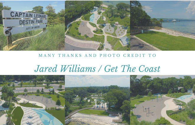The city of Destin will host a ribbon cutting May 13 to mark the grand opening of Captain Leonard Destin Park at 101 Calhoun Ave.