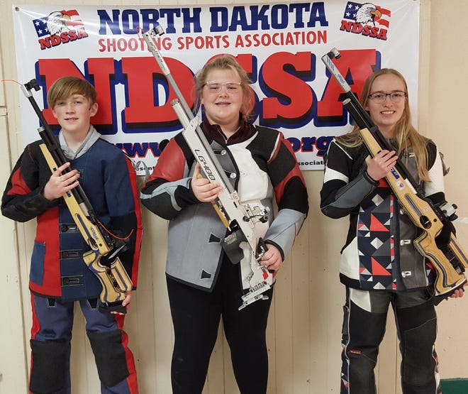 Nate Steinhaus, Lauren Stive and Casia Steinhaus