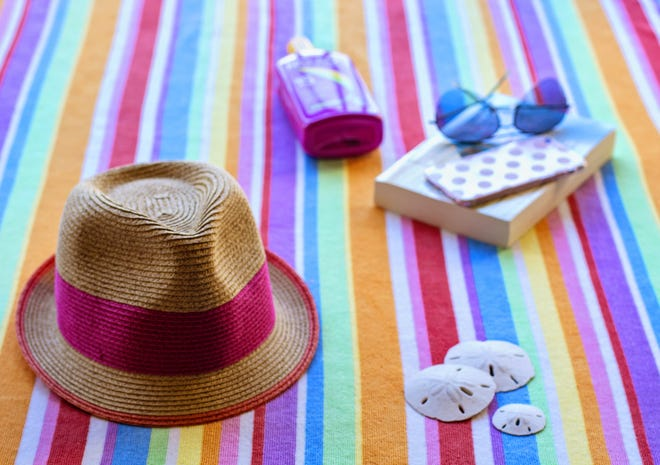 Be a trend setter and protect your face, ears and neck with a hat with a wide brim.