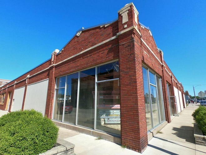 This building at the corner of Tompkins and Kellogg streets could soon be transformed into a brewery that would include a brewpub and event venue. Benedict Developers is seeking agrant from the City of Galesburg for proposed facade renovations.