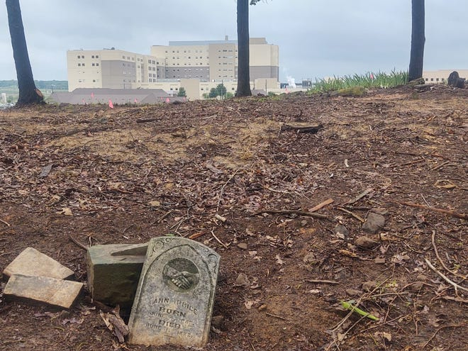 Iron Ore Creek Cemetery sits just behind Texoma Medical Center in Denison.