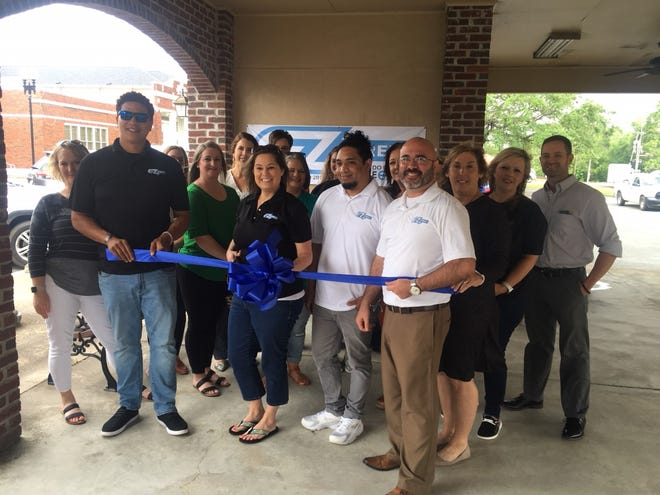 EZ Street Delivery celebrated its two year anniversary at the Amerisafe Pavilion in DeRidder.