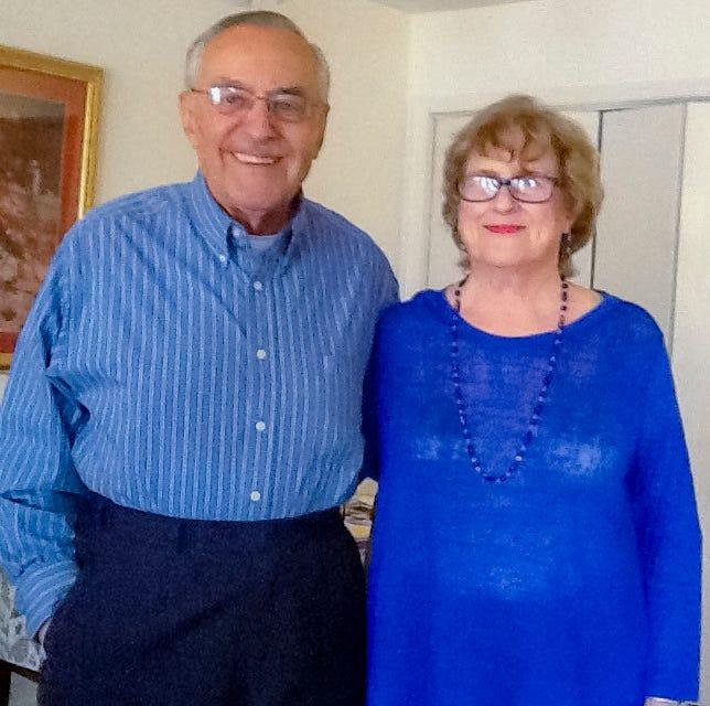66 years: Marty and Doris Blazy, of Oklahoma City, were married May 15, 1955.