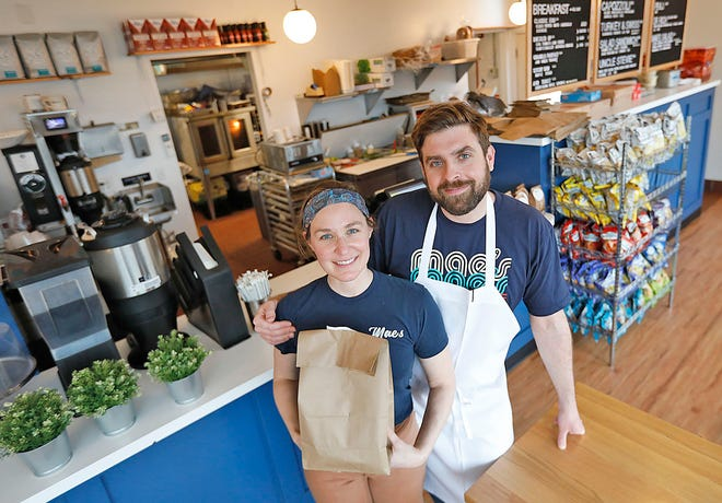 Eileen Price and Sam Kauff  are the owners of Mae's sandwich shop, 563 Ocean St., Marshfield.