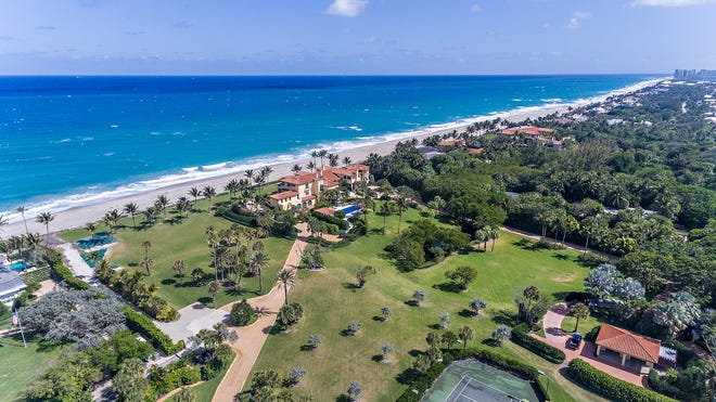 Palm Beach-based Douglas Elliman Real Estate agents handled both sides of the recent $80-million sale of a Seminole Landing estate of 6½ acres at 12525 Seminole Beach Road.  The buyer was an entity affiliated with software billionaire Larry Ellison, who co-founded Oracle Corp. The estate was sold by financier Gabriel Hoffman of Acciptiter Capital Management.