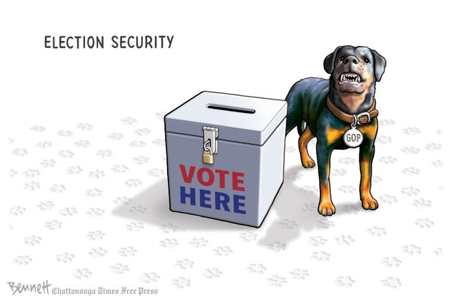 CLAY BENNETT / WASHINGTON POST NEWS SERVICE