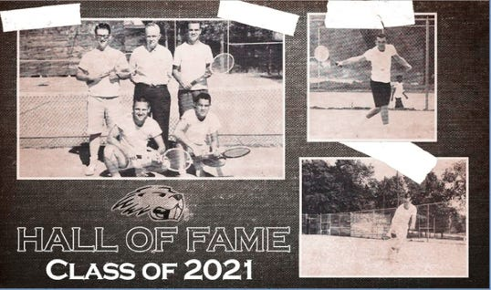 Pratt Community College announces their 2021 Hall of Fame athletes - Tom Brungardt and Larry Rhodes, who captured first place in doubles at the 1959 NJCAA National Tennis Tournament. Other members of the 1959 PCC tennis team also are among the honorees, as are tennis players from 1961 and 1985-87.