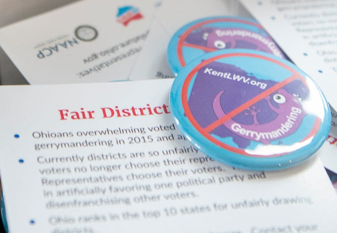 The League of Women Voters of Kent will be hosting a fair districts community mapping session at 6:30 p.m. Thursday at the Kent Free Library.