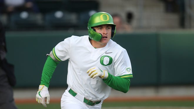 Tanner Smith's three-run home run in the seventh inning Saturday powered Oregon to a 5-1 Pac-12 baseball win over Washington at PK Park.