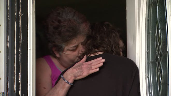 Taylor Falls was welcomed home after being reported missing on Wednesday.
