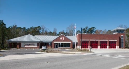 Wilmington Fire Department Station 3 is a LEED certified building.