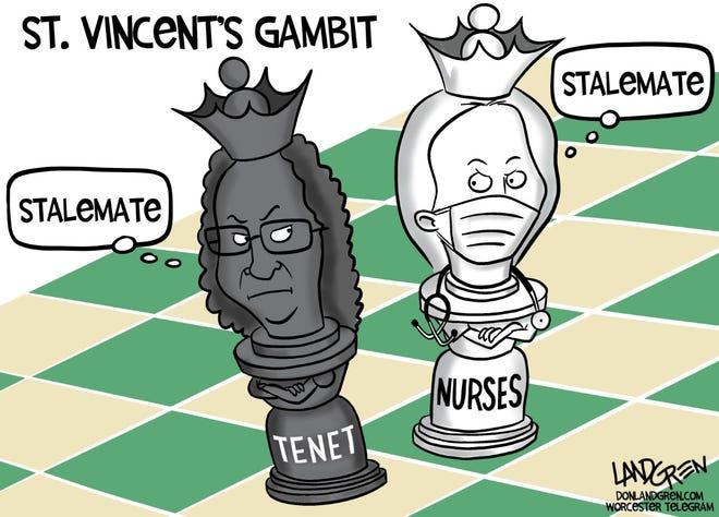 St. Vincent Hospital nurses' strike