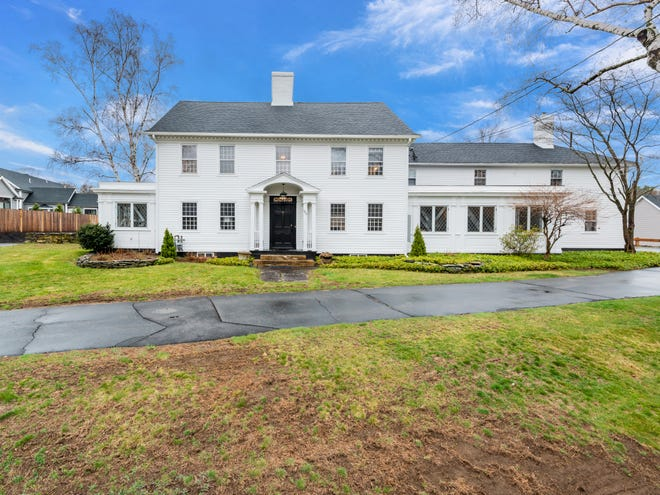 The former Bonnie Dell Farm, a six-bed, six-bath Colonial in Shrewsbury, is on the market for $1 million. View a photo gallery at telegram.com.