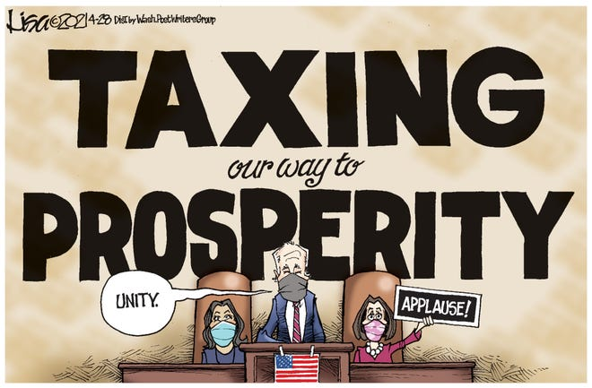 Taxing our way to prosperity