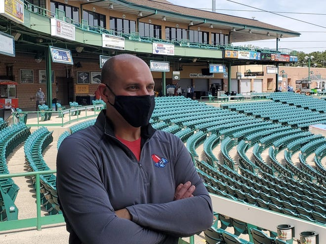 Jersey Shore BlueClaws President Joe Ricciutti promises a safe return to baseball for local fans as the Lakewood team's 20th season begins May 4.