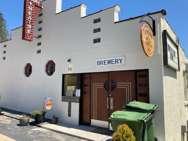 Located at the historic Mars Theatre building in downtown Mars Hill, Hickory Nut Gorge Brewery opened in Nov. 2019.