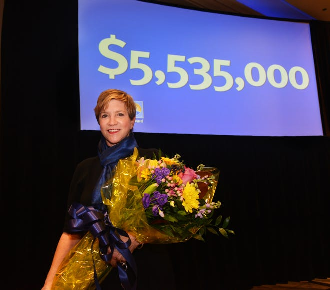 United Way of Brevard held their award celebration Thursday at the Melbourne Rialto. 2020 campaign chair Lynda Weatherman announced that they had raised $5,535,000 last year. Bart Gaetjens with Florida Power & Light is the 2021 chair.