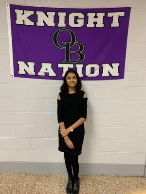 Kavya Venkatesan, a freshman at Old Bridge High School, participated in a virtual financial literacy summit presented by CNBC and the Junior Achievement organization.