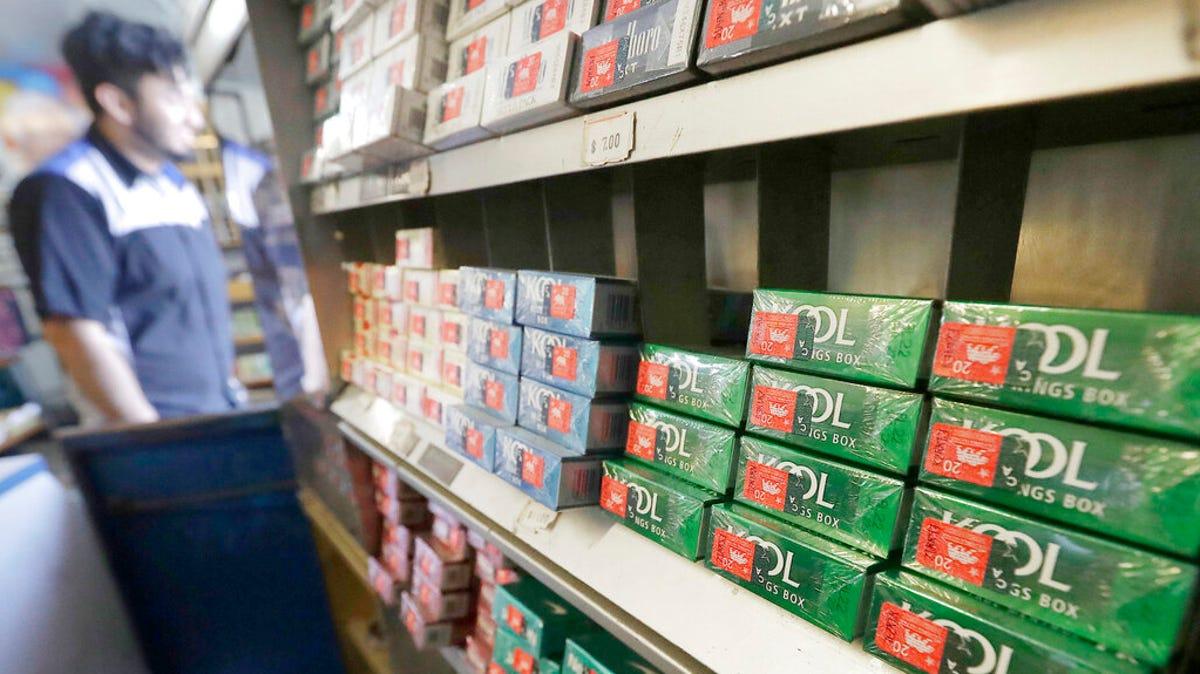 FDA revives federal effort to ban menthol cigarettes 1
