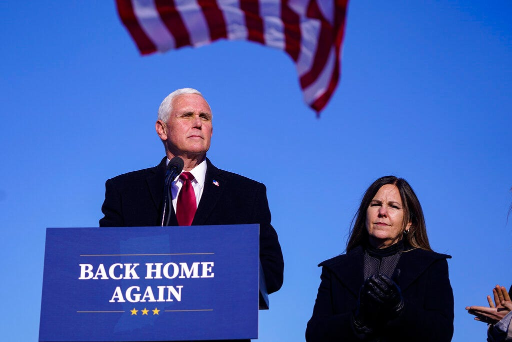 Pence steps out from Trump's shadow as he tests waters for 2024 1