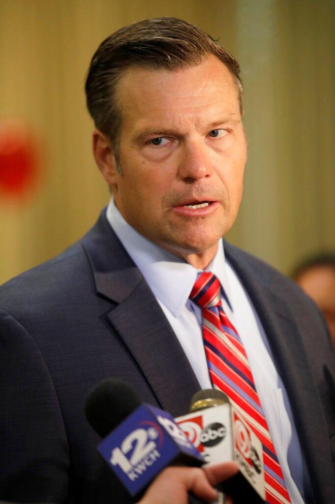 Polarizing Trump ally Kobach launches bid for Kansas AG 1