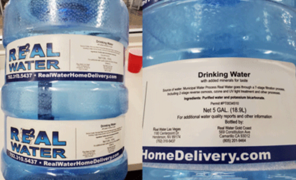 Vegas agency links more liver ailments to 'Real Water' brand 1