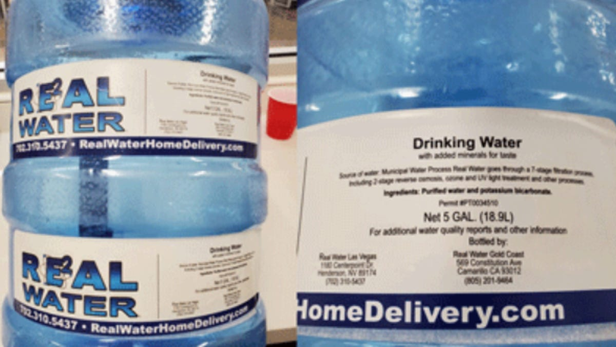 Vegas agency links more liver ailments to 'Real Water' brand 2