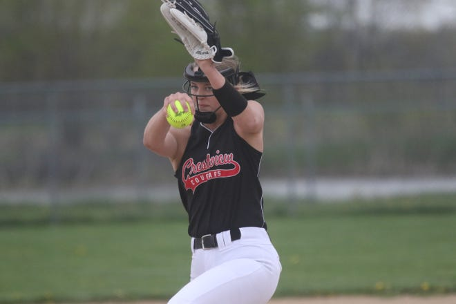 Crestview's Kylie Ringler is the 2021 Mansfield News Journal Softball Pitcher of the Year.