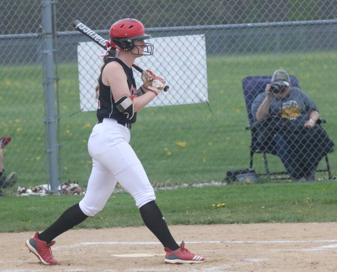 Crestview's Autumn Bailey was named the 2021 Firelands Conference Player of the Year in softball.