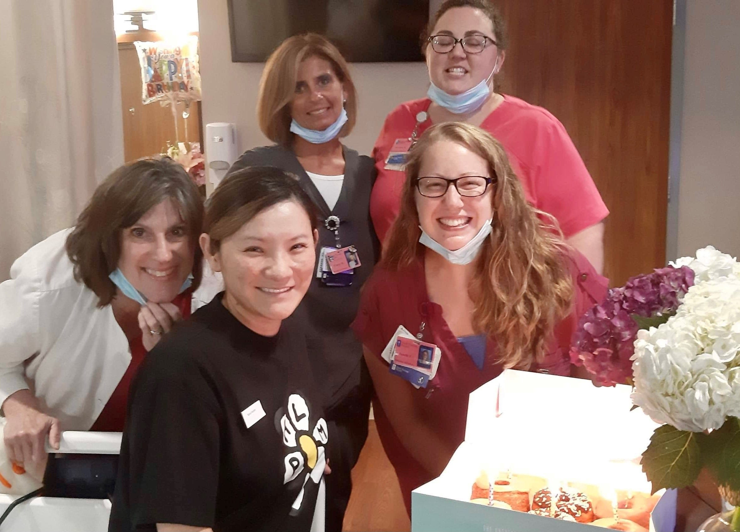 St. Thomas Midtown nurses and techs dance for Miracle Mom's birthday