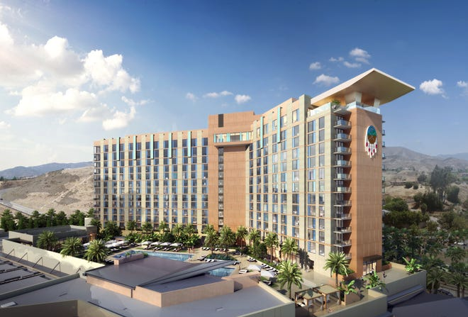 San Manuel's onsite hotel is set to open in late 2021.