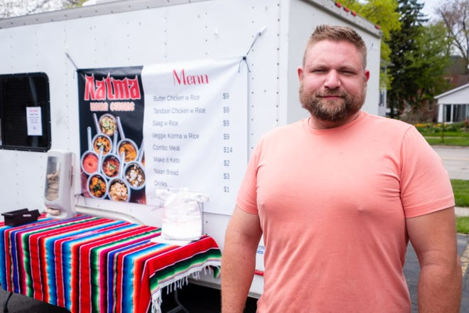 Bretton Jones, owner of food truck El Hombre Grande, has opened Aatma Indian Cuisine which serves Indian dishes. The truck serving the dishes will be parked outside of Ryan's Party Store on Wednesdays.