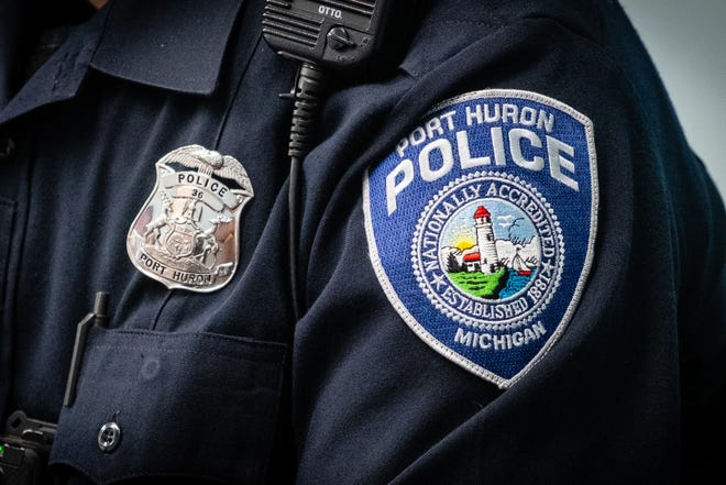 A Port Huron man was arrested and lodged at the St. Clair County jail Saturday night for allegedly assaulting a woman at her home Friday.