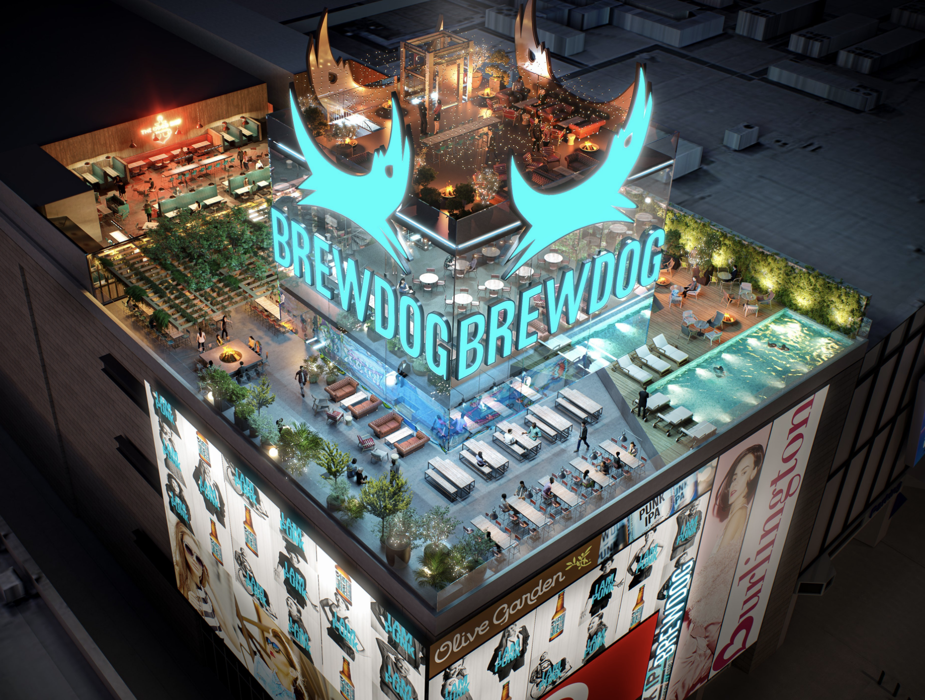 A brew with a view: BrewDog signs lease for a rooftop brewery on Las Vegas Strip