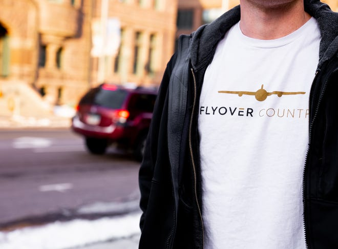 Flyover Country is an apparel company based in Sioux Falls.