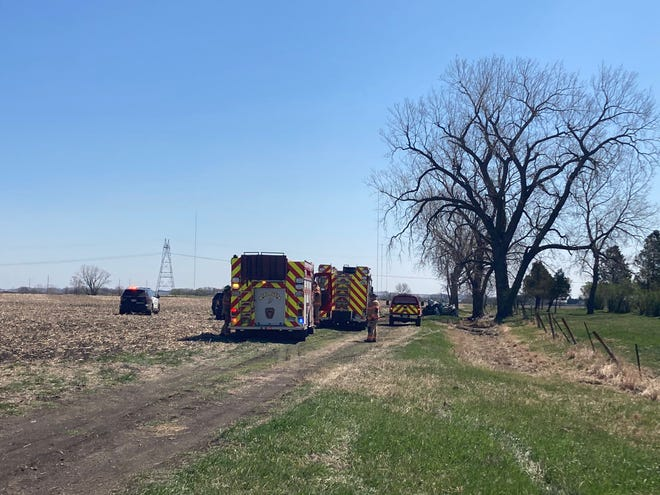 One man died after a truck struck a tree in southeastern Sioux Falls near E. 57th Street and Six Mile Road on April 29.