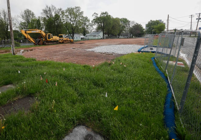 Construction is about to begin rebuilding Springfield Fire Station 4, located at 2423 N. Delaware Ave.