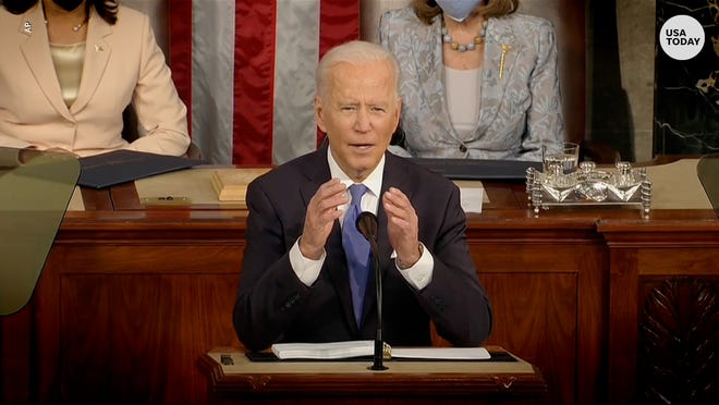 Biden addresses gun violence, immigration and COVID relief bill in address to Congress