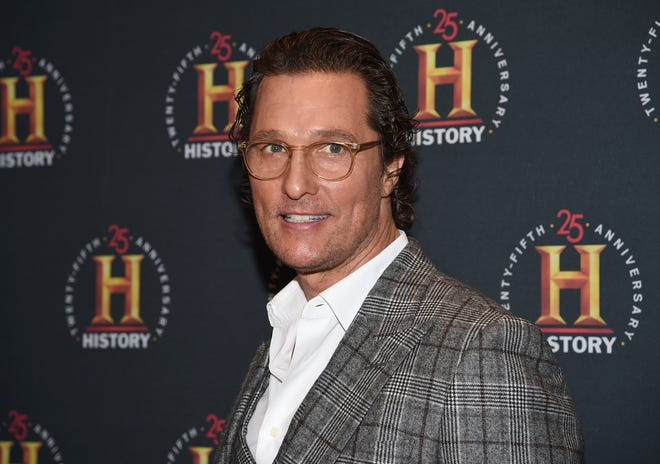 """Matthew McConaughey describes America as """"going through puberty"""" in his July 4th video message."""