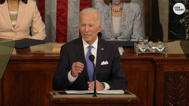 President Biden urges Congress to do this by George Floyd's birthday.