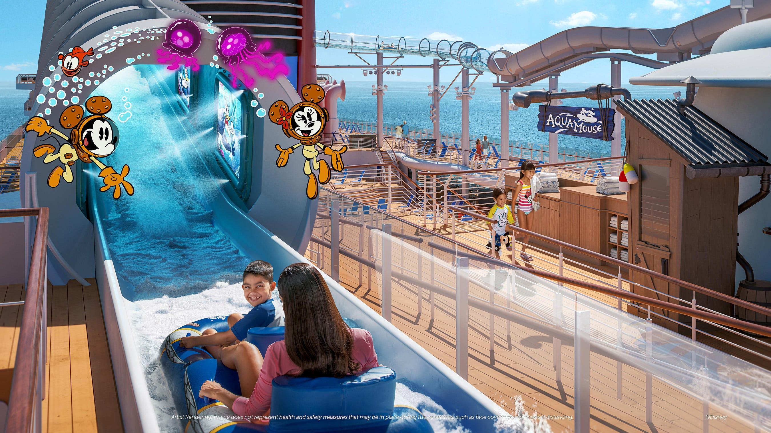 Disney Wish: A look inside Disney Cruise Line's newest ship