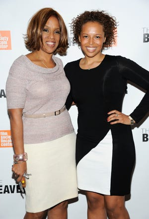 """Gayle King and her daughter Kirby King Bumpus pose together at a special screening of """"The Beaver"""" at Walter Reade Theater on Wednesday, May 4, 2011 in New York."""