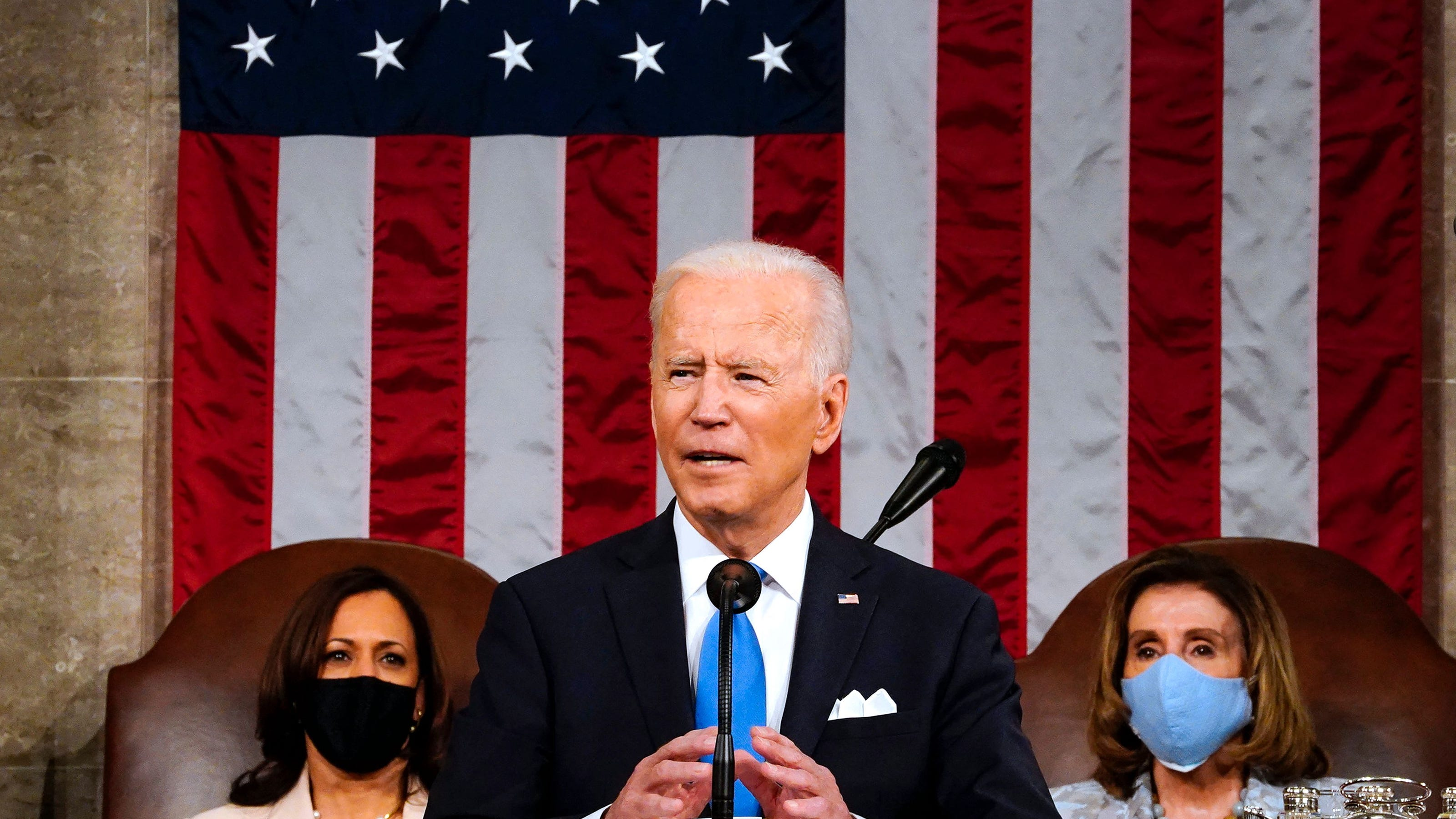 President pushed new jobs, infrastructure, policing initiatives in COVID-era speech to Congress