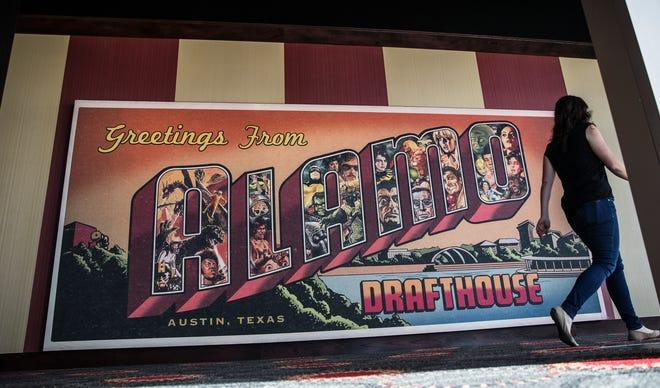 Alamo Drafthouse's Mueller cinema seen on March 1, 2017.