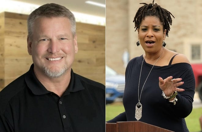 Jimmy Crouch and Cheryl Lee are vying for the open Place 4 seat on the Bastrop City Council. The election is heading for a recount Monday after Crouch narrowly defeated Lee by just four votes, according to the unofficial election results.