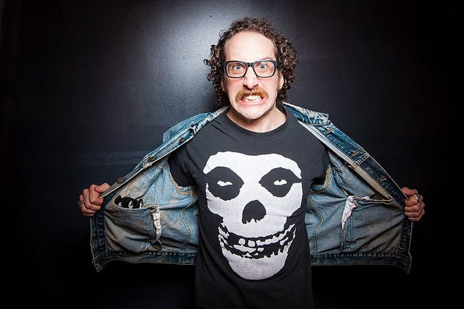 Ian Fidance will headline the Rubber City Comedy Festival on Friday and Saturday night at the Funny Stop in Cuyahoga Falls.