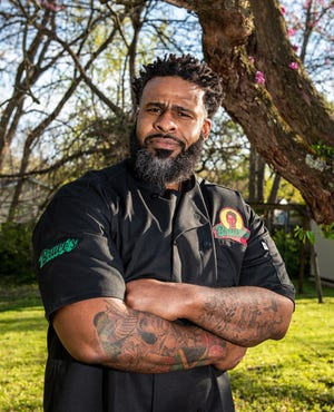 Akron food truck operator Marvin Ferguson will take over the kitchen at Akron's NoHi Pop-up for Mother's Day weekend.