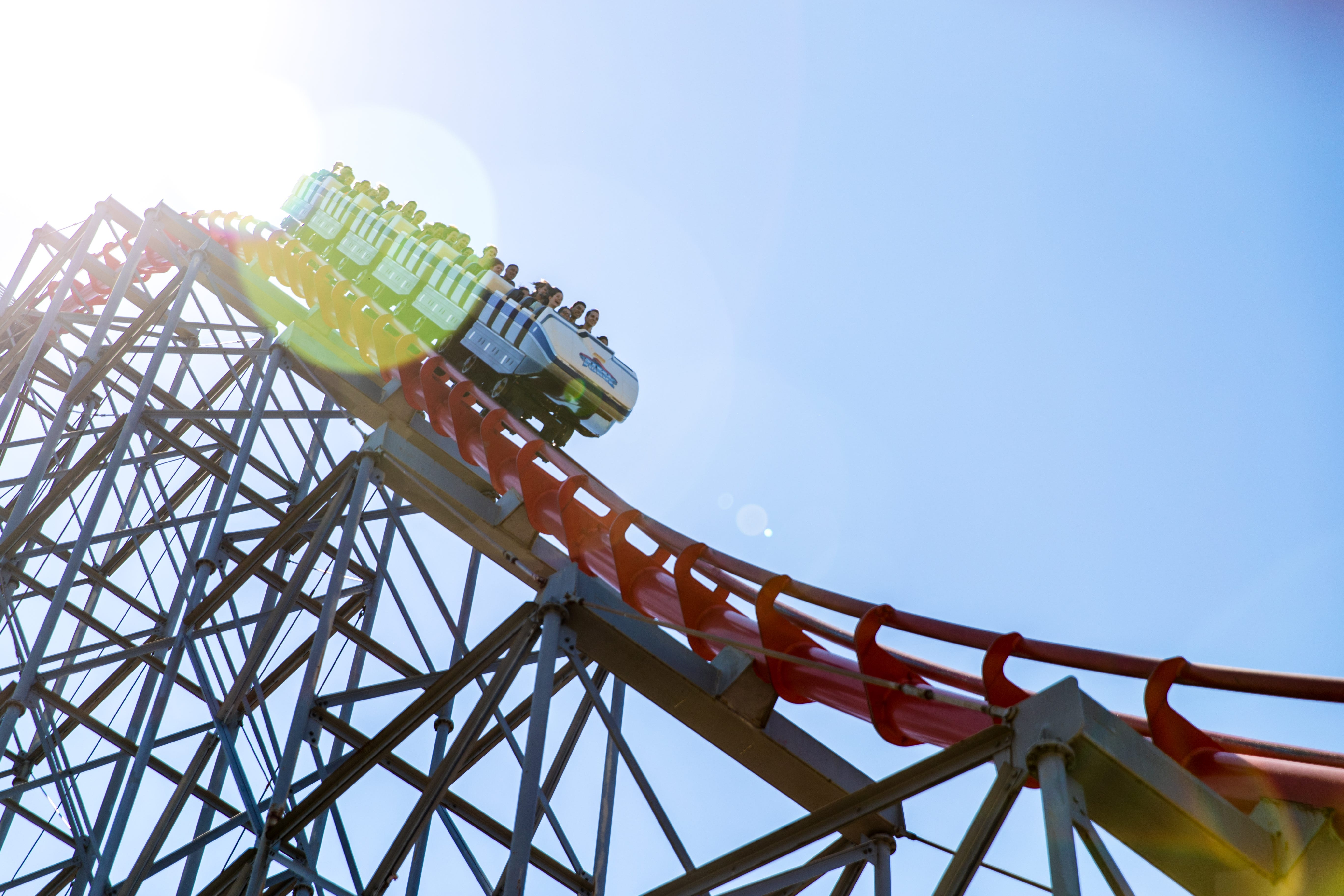 Steel Force Mega Coaster is one of multiple roller coasters available at Dorney Park this season.